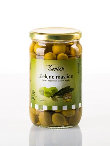 Grüne Oliven ganze 720g
