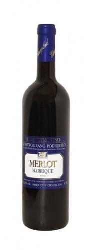 Rotwein Vinoplot Merlot Barrique 2012