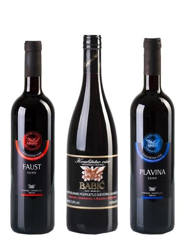 Probe-Set Vinoplod Babic 2013, Plavina 2009 & Faust 2010