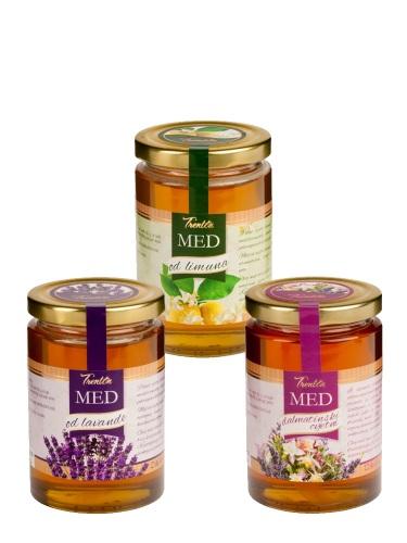 Probe-Set Trenton Honige aus Lavendel, Zitrone & Blüten