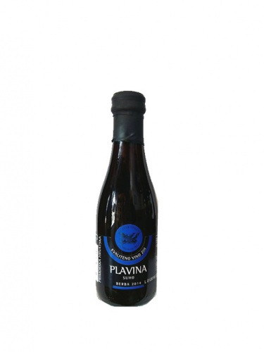 Rotwein Vinoplod Plavina 2014