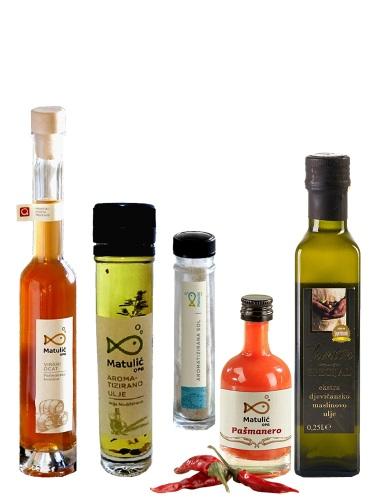 Probe-Set Matulic Gewürze und Olivenöl