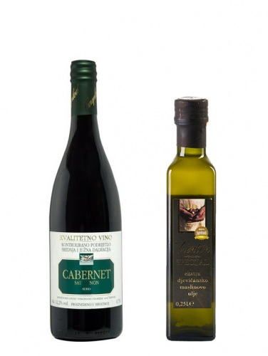 Probe-Set Vinoplod Cabernet 2012 & Trenton Olivenöl