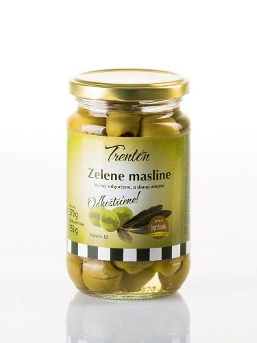 Grüne Oliven ohne Stein 370g