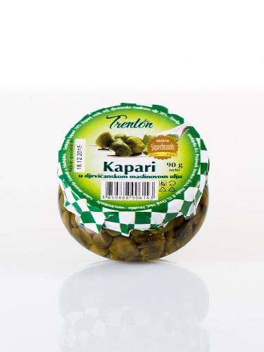 Kapern in Nativem Olivenöl 90g